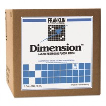 Dimension Labor Reducing Floor Finish, 5gal Cube