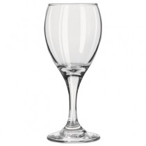 "Teardrop Glass Stemware, White Wine, 6.5oz, 6 1/4"" Tall"