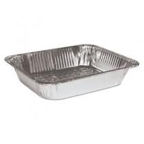 "Aluminum Steam Table Pans, Half-Size, 2.63"" Deep"