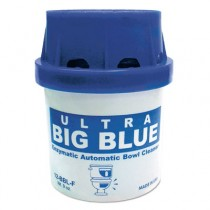 Ultra Big Blue Automatic Toilet Bowl Cleaner, Blue, Unscented, 9oz Cartridge