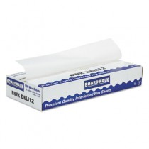 "Interfold-Sheet Deli Paper, 12"" x 10 3/4"", White, 500 Sheets/Box"