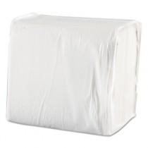 Dinner Napkins, 1-Ply, 17 x 17, White