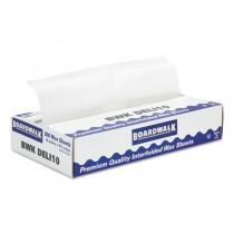 "Interfold-Sheet Deli Paper, 10"" x 10 3/4"", White, 500 Sheets/Box"