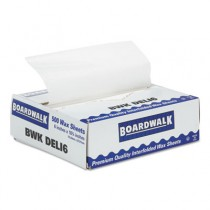 "Interfold-Sheet Deli Paper, 6"" x 10 3/4"", White, 500 Sheets/Box"