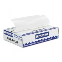 "Interfold-Sheet Deli Paper, 8"" x 10 3/4"", White, 500 Sheets/Box"