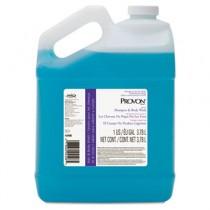 Tearless Shampoo & Body Wash, Fresh Scent, Blue, 1 gal Bottle