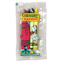 Classic Color Pack Crayons, Cello Pack, 4 Colors