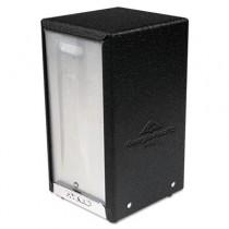 T-Fold Open-Face Napkin Dispenser, 3 7/8w x 4 3/8d x 7 3/8h, Black