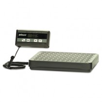 Pelouze Digital Receiving Scale, 400lb Cap, 7 3/4 x 12 Platform