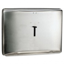 """REFLECTIONS Toilet Seat Cover Dispenser, Stainless Steel, 16.6"""" x 12.3"""" x 2.5"""""""