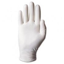 Dura-Touch PVC Powdered Gloves, Clear, Medium, 100/Box