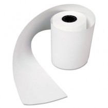 "Heat Sensitive Register Rolls, 2 1/4"" x 80 ft, 1 Ply, White"
