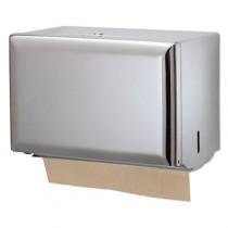 Standard Key-Lock Singlefold Towel Dispenser, Steel, 10 3/4 x 6 x 7 1/2, Chrome
