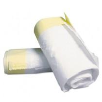 Sanitary Liner, 3gal, 16 1/2w x 6 1/10d x 19 3/10h, White