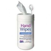 Alcohol Free Hand Sanitizing Wipes, 7 x 8, White