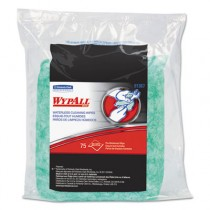 WYPALL Waterless Hand Wipes Refill Bags, 10 1/2 x 12 1/4