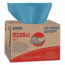 WYPALL X80 Wipers, Brag Box, HYDROKNIT, 12 1/2 x 16 4/5