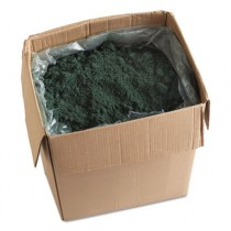 Blended Wax-Based Sweeping Compound, Green, Grit-Free, 100lb Box
