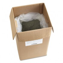Oil-Based Sweeping Compound, Green Softwood, Grit-Free, 50lb Box