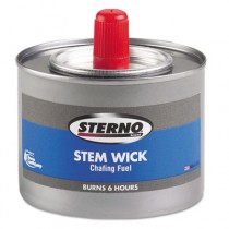 Chafing Fuel Can With Stem Wick, Methanol,1.89g, Six-Hour Burn
