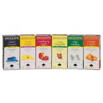 Assorted Herbal Tea Packs, Six Flavors, 28 Bags Of Each Flavor