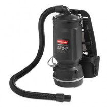 Executive Series Backpack Vacuum, 6 Qt, Black, 50ft Cord