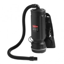 Executive Series Backpack Vacuum, 10 Qt, Black, 40ft Cord