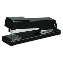 Compact Desk Stapler, 20-Sheet Capacity, Black