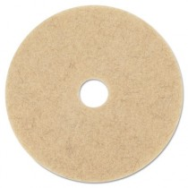 Ultra High-Speed Natural Blend Floor Burnishing Pads 3500, 27-Inch, Natural Tan