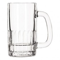 "Glass Mugs and Tankards, Mug, 12oz, 5 5/8"" Tall"