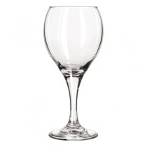 "Teardrop Glass Stemware, Wine, 10.75oz, 7 1/4"" Tall"