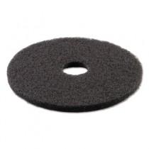 Standard 21-Inch Diameter Stripping Floor Pads, Black