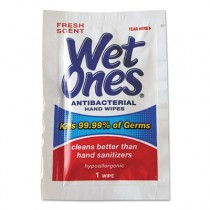 Antibacterial Moist Towelettes, 5 x 7-1/2, White, 1-Ply