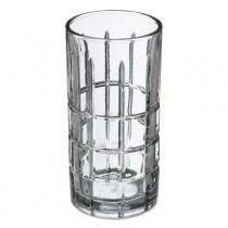 Tartan Glasses, Iced Tea Glass, 16 oz, Clear