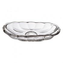 """Banana Split Dish, Glass, Oval, 8 1/4""""W x 3 7/8""""L x 1 5/8""""D, Clear"""
