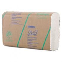 SCOTT Multi-Fold Towels, 9 2/5 x 9 1/5, White