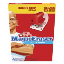 Magic Eraser Replacement Pads for Handy Grip, 4 3/5 x 3 1/5, White