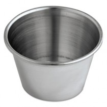 Sauce Cups, 2.5 oz, Stainless Steel
