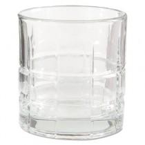 Tartan Glasses, Rocks Glass, 10 1/2 oz, Clear