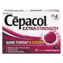 Sore Throat and Cough Lozenges, Mixed Berry