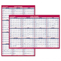 "Recycled Paper Vertical/Horizontal Wall Calendar, 24"" x 36"", 2013"