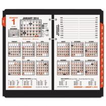 """Burkhart's Day Counter Recycled Desk Calendar Refill, 4 1/2"""" x 7 3/8"""", 2013"""