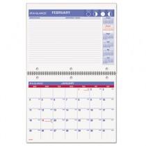 Recycled Desk/Wall Calendar, 11 x 8-1/2, 2013