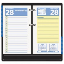 "QuickNotes Recycled Desk Calendar Refill, 3 1/2"" x 6"", 2013"