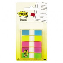 Page Flags, Blue/Green/Pink/Purple/Yellow, 20 Flags/Dispenser, 5 Dispensers/Pack