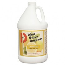 Water-Soluble Deodorant, Lemon Scent, 1gal Bottles