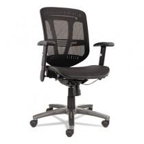 Eon Series Multifunction Wire Mechanism, Mid-Back Suspension Mesh Chair, Black