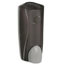 "Dispenser for Liquid Liter Soaps, 5 1/10"" x 4"" x 12 3/10"", Smoke"