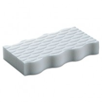 """Magic Eraser Extra Power, 4 3/5 x 2 2/5 in, 7/10"""" Thick, White"""