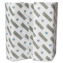 "Green Plus C-Fold Towels, 10 1/8"" x 13"", White"